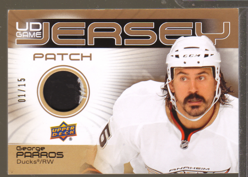 2010-11 Upper Deck Game Jerseys Patches #GJ2GP George Parros