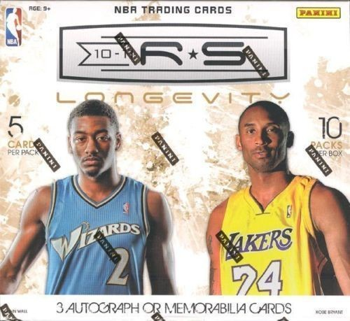 2010-11 Rookies and Stars Longevity Basketball Retail Box