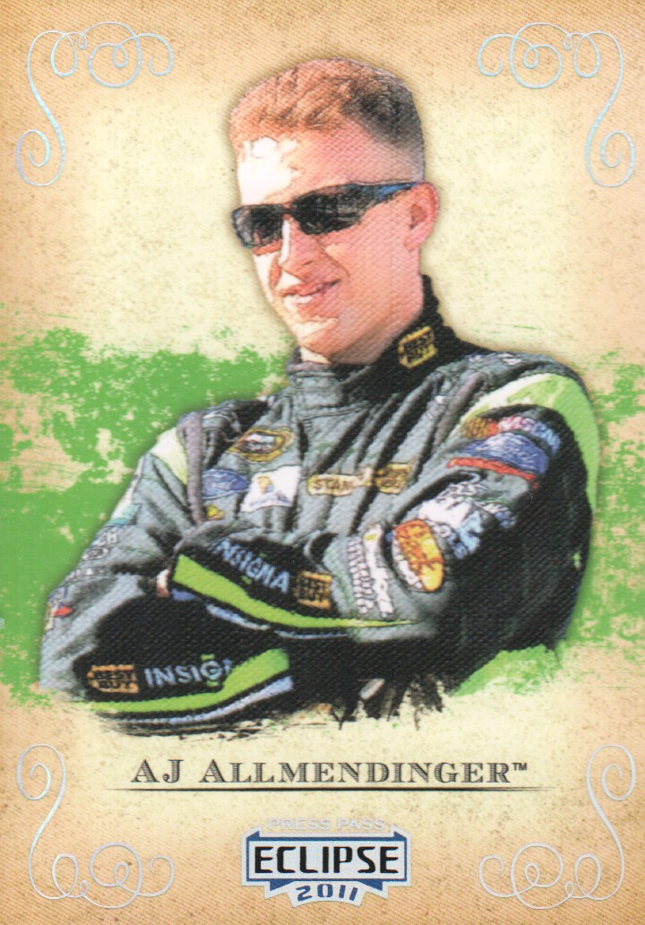 2011 Press Pass Eclipse #1 A.J. Allmendinger