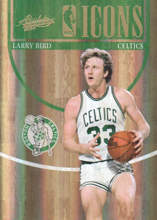 2010-11 Absolute Memorabilia NBA Icons Spectrum #1 Larry Bird