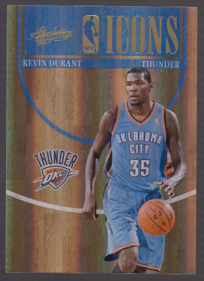 2010-11 Absolute Memorabilia NBA Icons Spectrum #8 Kevin Durant