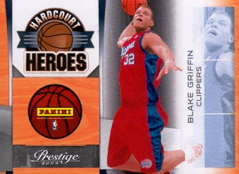 2009-10 Prestige Hardcourt Heroes #BG Blake Griffin PROMO