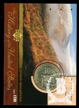 2004 History of the United States State Quarters #SQ9 New Hampshire