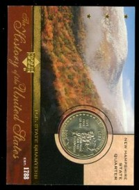 2004 History of the United States State Quarters #SQ9 New Hampshire front image