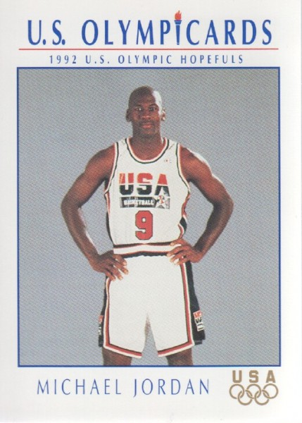 1992 Impel U.S. Olympic Hopefuls #12 Michael Jordan BK