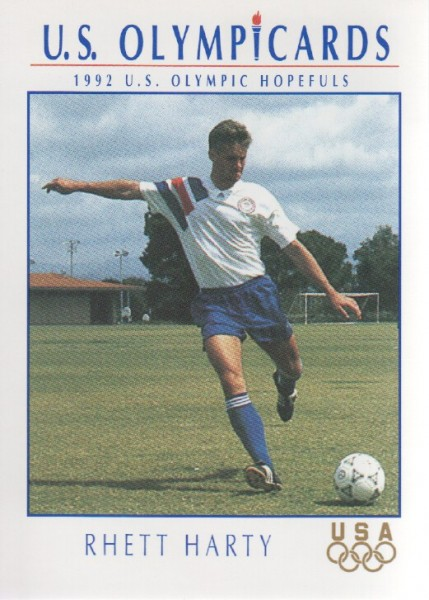 1992 Impel U.S. Olympic Hopefuls #66 Rhett Harty/Soccer