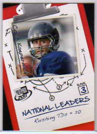 2011 Press Pass #65 Colin Kaepernick NL