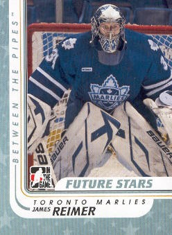 2010-11 Between The Pipes #61 James Reimer