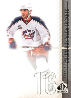 2010-11 SP Authentic #19 Derick Brassard