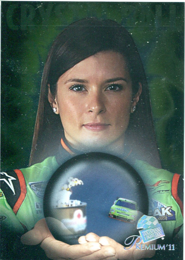 2011 Press Pass Premium Crystal Ball #CB6 Danica Patrick