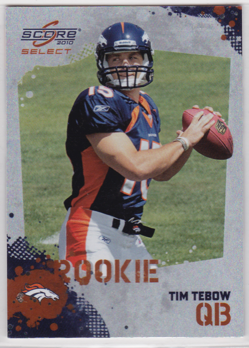 2010 Score Select Factory Set Rookie Bonus #2 Tim Tebow
