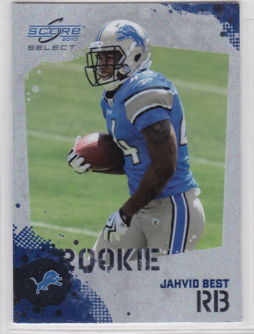 2010 Score Select Factory Set Rookie Bonus #10 Jahvid Best