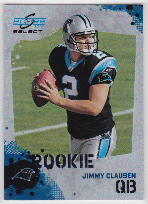 2010 Score Select Factory Set Rookie Bonus #3 Jimmy Clausen