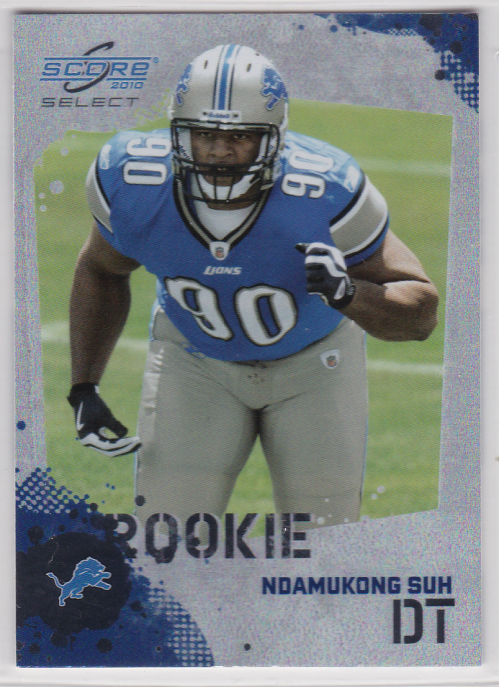 2010 Score Select Factory Set Rookie Bonus #5 Ndamukong Suh