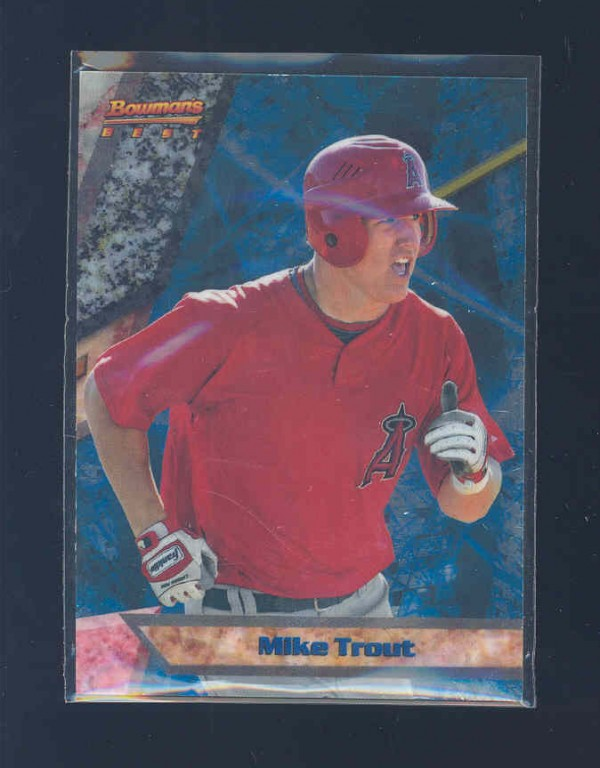 2011 Bowman Bowman's Best Prospects #BBP9 Mike Trout