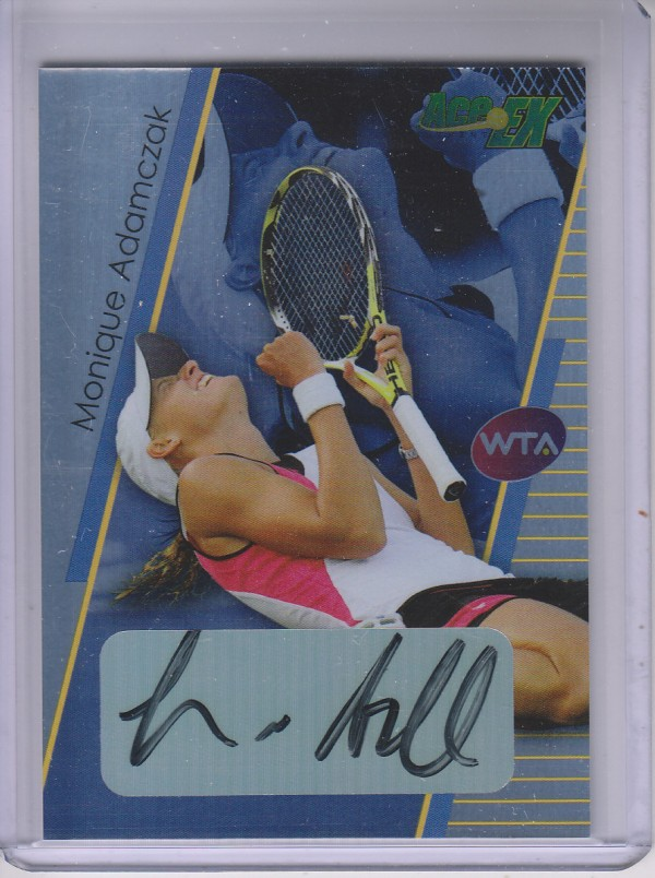 2011 Ace Authentic EX #1 Monique Adamczak