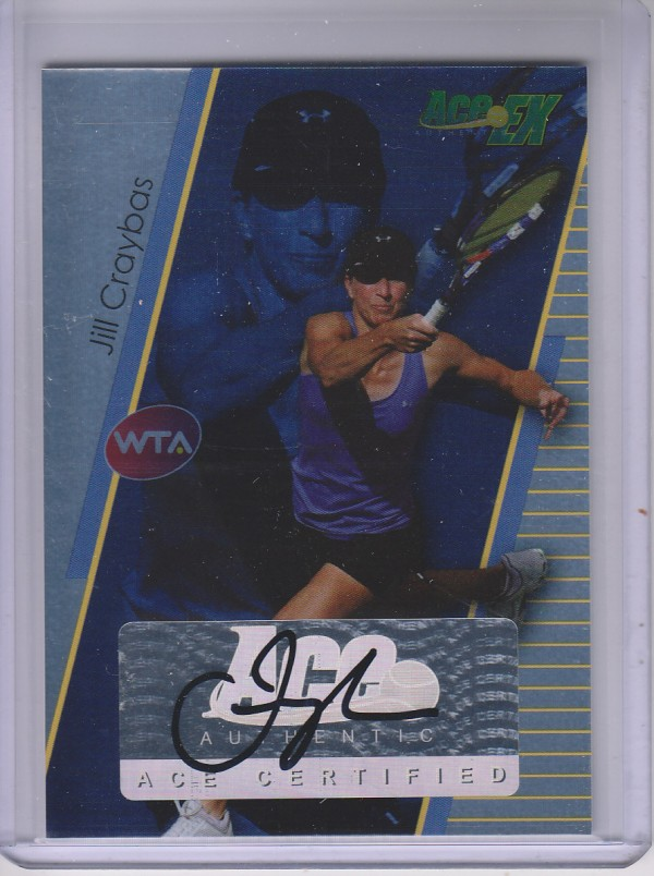 2011 Ace Authentic EX #16 Jill Craybas