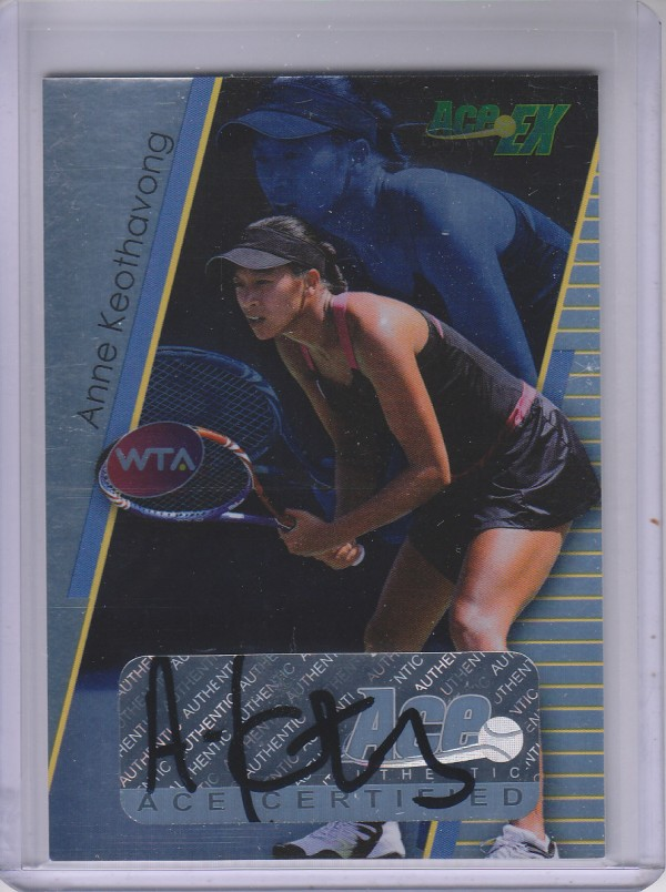 2011 Ace Authentic EX #30 Anne Keothavong