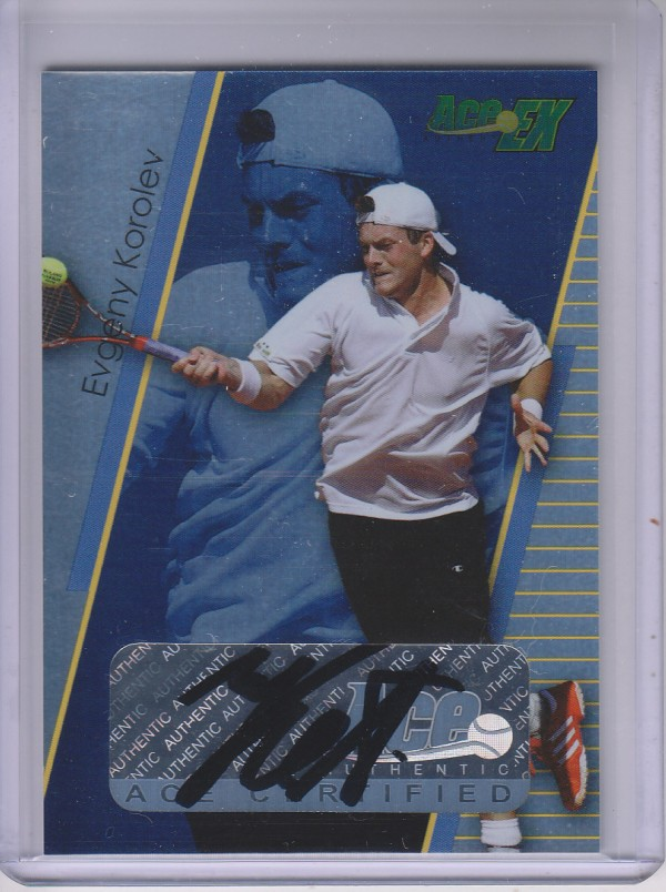2011 Ace Authentic EX #34 Evgeny Korolev