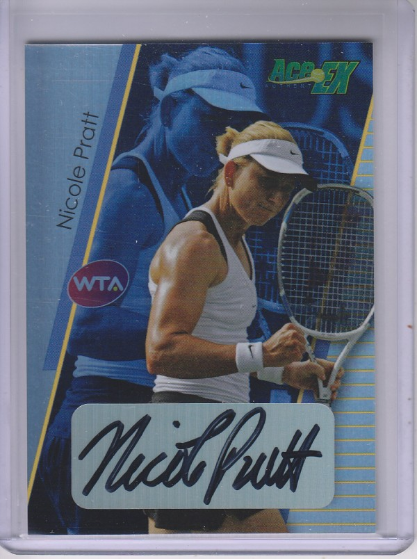 2011 Ace Authentic EX #52 Nicole Pratt