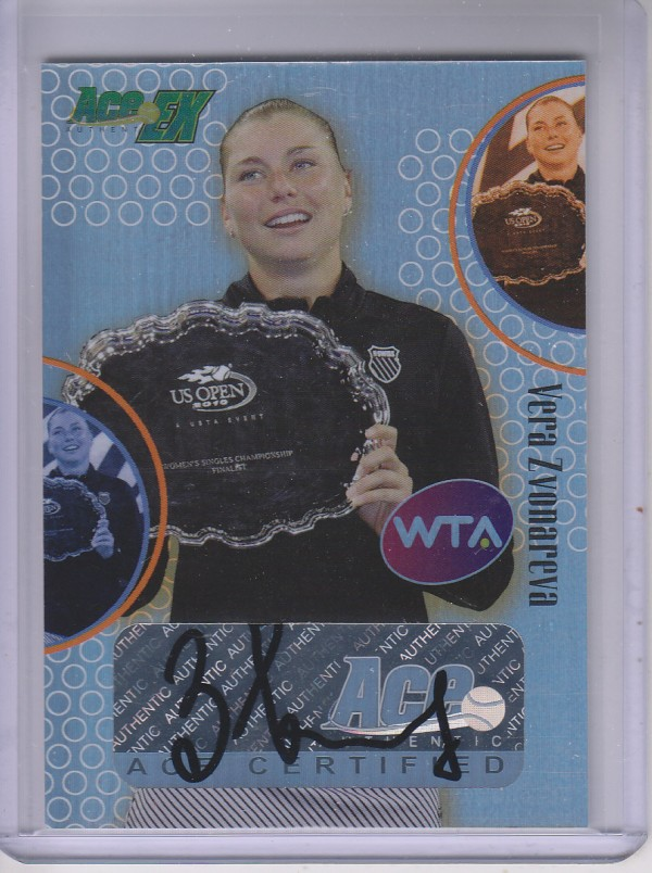 2011 Ace Authentic EX #90 Vera Zvonareva