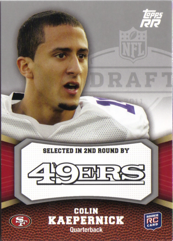 2011 Topps Rising Rookies #128 Colin Kaepernick RC