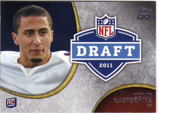 2011 Topps Rising Rookies NFL Draft #DRCK Colin Kaepernick