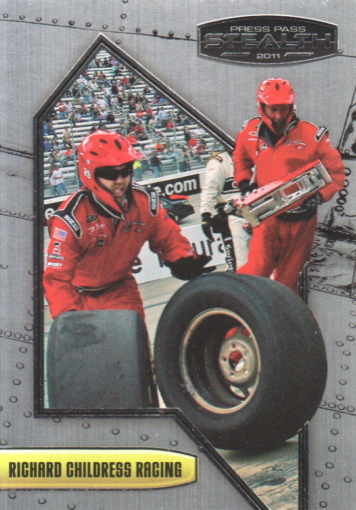 2011 Press Pass Stealth #18 Kevin Harvick's Crew