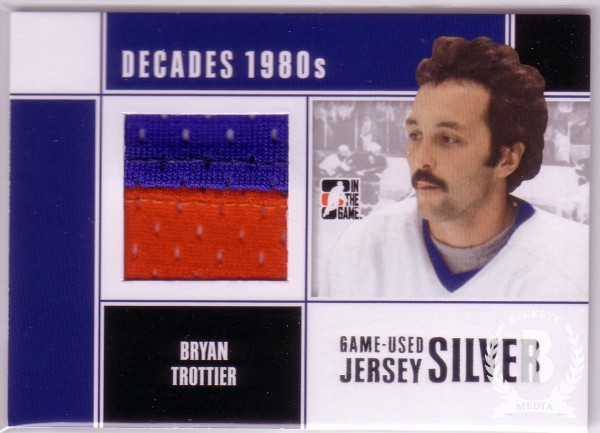 2010-11 ITG Decades 1980s Game Used Jerseys Silver #M14 Bryan Trottier