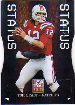 2011 Donruss Elite Status Black #57 Tom Brady