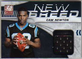 2011 Donruss Elite New Breed Jersey #7 Cam Newton