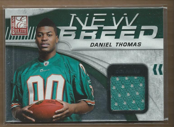 2011 Donruss Elite New Breed Jersey #10 Daniel Thomas