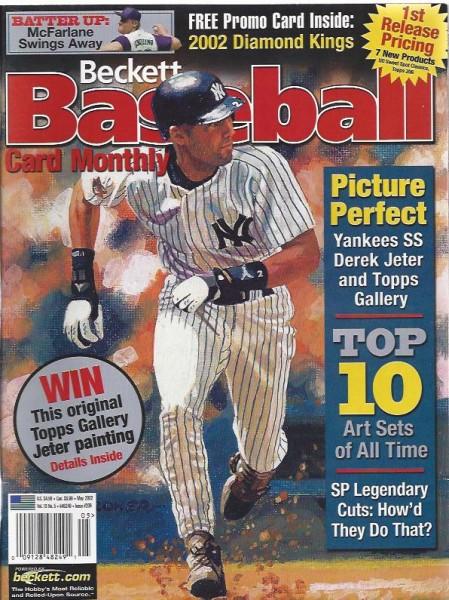 1984-11 Beckett Baseball #206 Derek Jeter (May 2002)