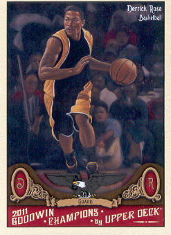2011 Upper Deck Goodwin Champions #111 Derrick Rose