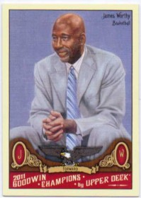 2011 Upper Deck Goodwin Champions #115 James Worthy