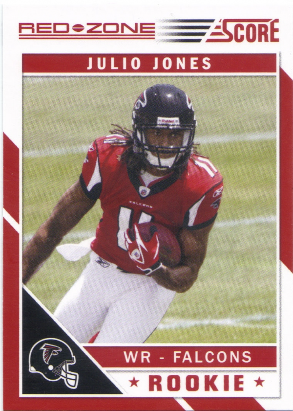 2011 Score Red Zone #351 Julio Jones