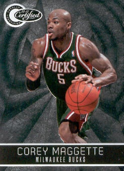 2010-11 Totally Certified #12 Corey Maggette