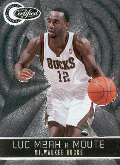 2010-11 Totally Certified #13 Luc Mbah a Moute