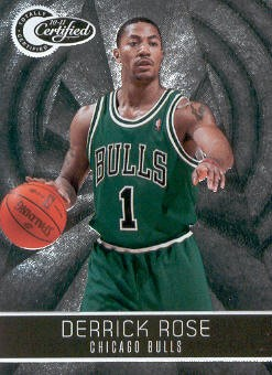 2010-11 Totally Certified #14 Derrick Rose