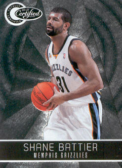 2010-11 Totally Certified #34 Shane Battier