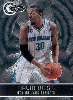 2010-11 Totally Certified #50 David West