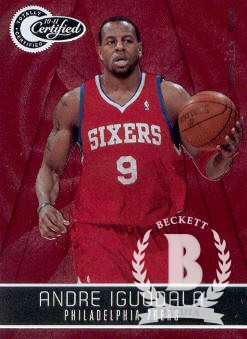 2010-11 Totally Certified Red #1 Andre Iguodala