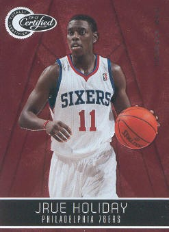 2010-11 Totally Certified Red #3 Jrue Holiday