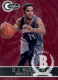 2010-11 Totally Certified Red #5 D.J. Augustin