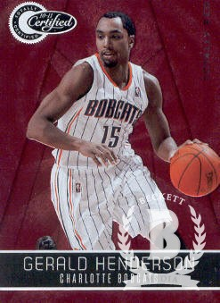 2010-11 Totally Certified Red #7 Gerald Henderson