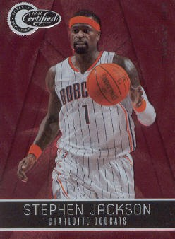 2010-11 Totally Certified Red #8 Stephen Jackson