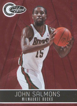 2010-11 Totally Certified Red #11 John Salmons