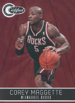 2010-11 Totally Certified Red #12 Corey Maggette