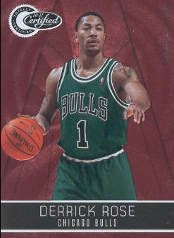 2010-11 Totally Certified Red #14 Derrick Rose