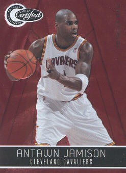 2010-11 Totally Certified Red #19 Antawn Jamison